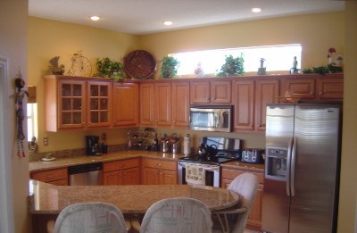 Kitchen Cabinets after refacing by Kitchen Facelifts