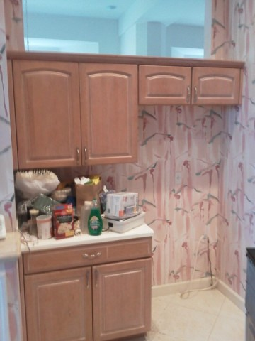 Before Kitchen Facelifts Cabinet Refacing