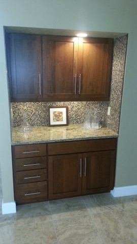 After Kitchen Facelifts cabinet refacing