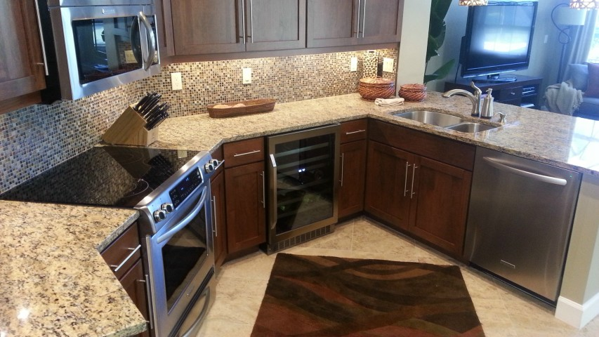 After cabinet refacing by Kitchen Facelifts