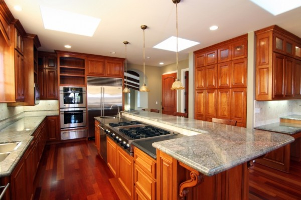 After cabinet refacing done by Kitchen Facelifts, this kitchen looks brand new